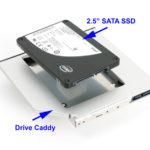 Sostituire l'unità DVD del computer portatile con un SSD 已发