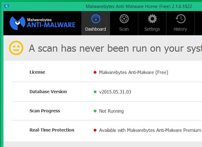 Malwarebytes Anti-Malware gratis