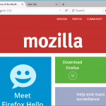 Firefox per Windows 10 linee guida di progettazione rivelate da Mozilla