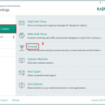 Come disattivare Kaspersky Firewall e Safe Money in Windows 10