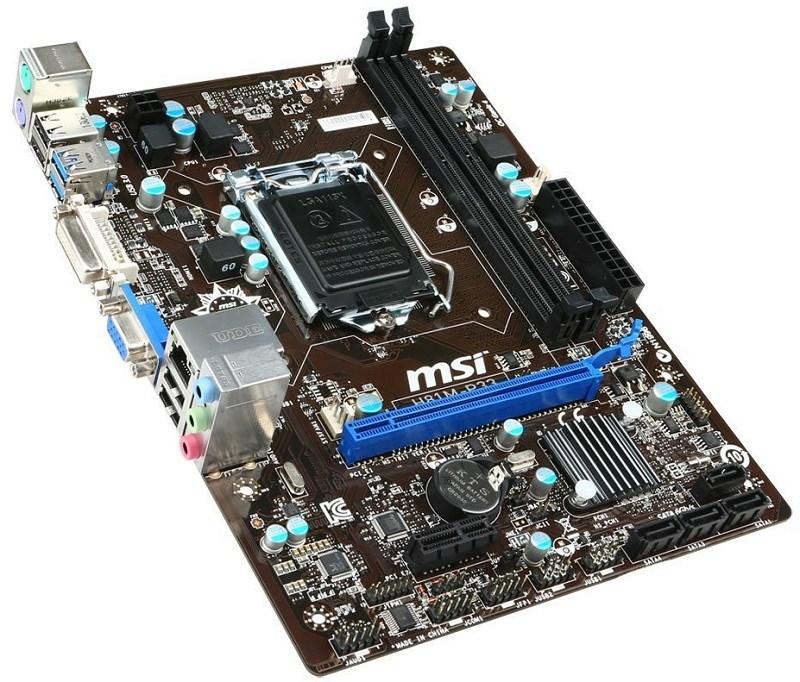 MSI Intel LGA 1150 H81M-P33