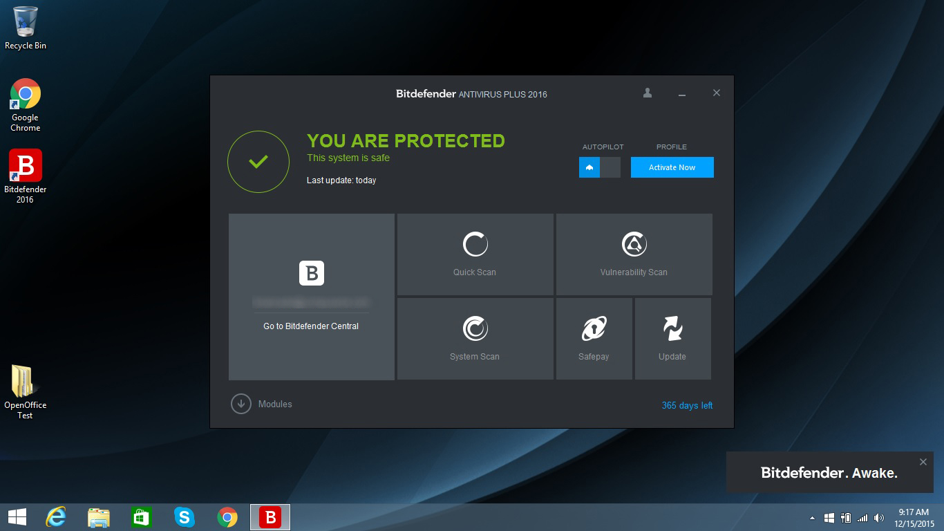 Bitdefender Antivirus Plus vs. Kaspersky Anti-Virus