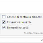 Come Visualizzare Estensione File in Windows 10, Windows 7 o 8?