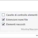 Come Visualizzare Estensione File in Windows 10, Windows 7 o 8?