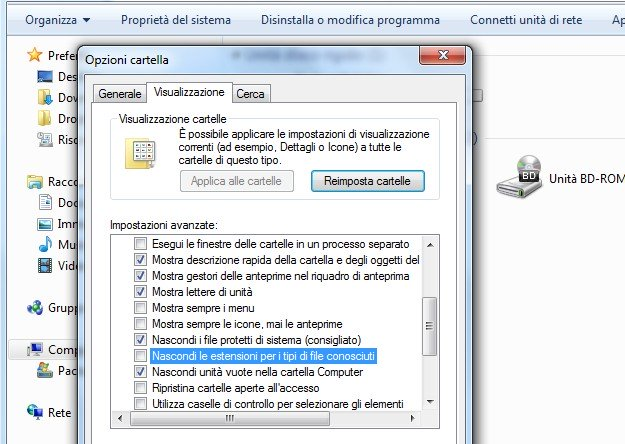 Estensione File
