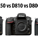 Nikon D850 vs D810 vs D800 / D800E, qual è la differenza?